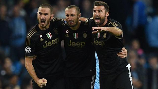 <p>Back three: <strong>Leonardo Bonucci, Giorgio Chiellini and Andrea Barzagli</strong></p> <br><p>One of the original proprietors of the back three, Juventus boss Massimiliano Allegri has actually converted to a traditional back four in recent months with Barzagli dropping to the bench. Nonetheless, in the 13 games that the Italian trio have played together it was business as usual, with only 12 goals conceded.</p> <br><p>Average goals conceded per game: <strong>0.92</strong></p>