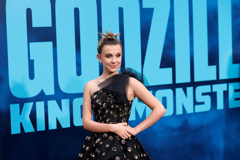 Millie Bobby Brown (REUTERS)