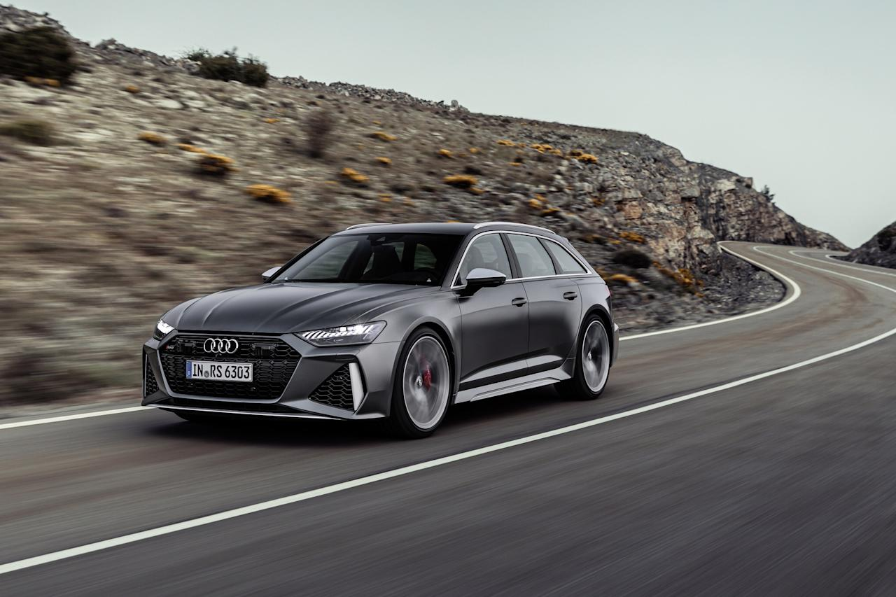 """Audi must have received the memo about station wagons being <a href=""""https://www.architecturaldigest.com/gallery/proof-station-wagons-newest-status-symbol?mbid=synd_yahoo_rss"""">the new symbol of stealth wealth</a>. This long-roofed vehicle combines enough luxury and performance to fight rivals from Porsche and Mercedes."""