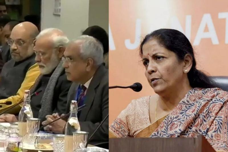 Why Nirmala Sitharaman was 'Absent' at PM Modi's Meeting with Economists at NITI Aayog