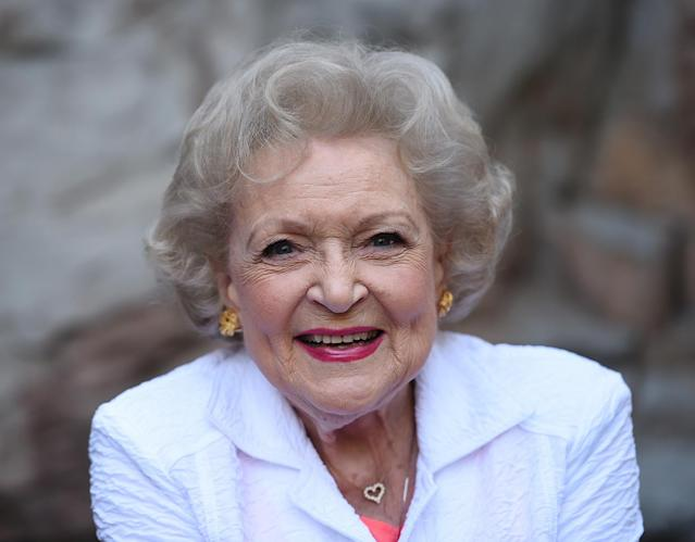 The amazing Betty White is 95 years young. (Photo: Getty Images)