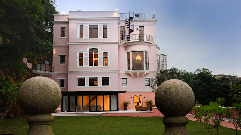 Home of Hong Kong heritage: 'the pink house' on The Peak is steeped in history, but faces an uncertain future