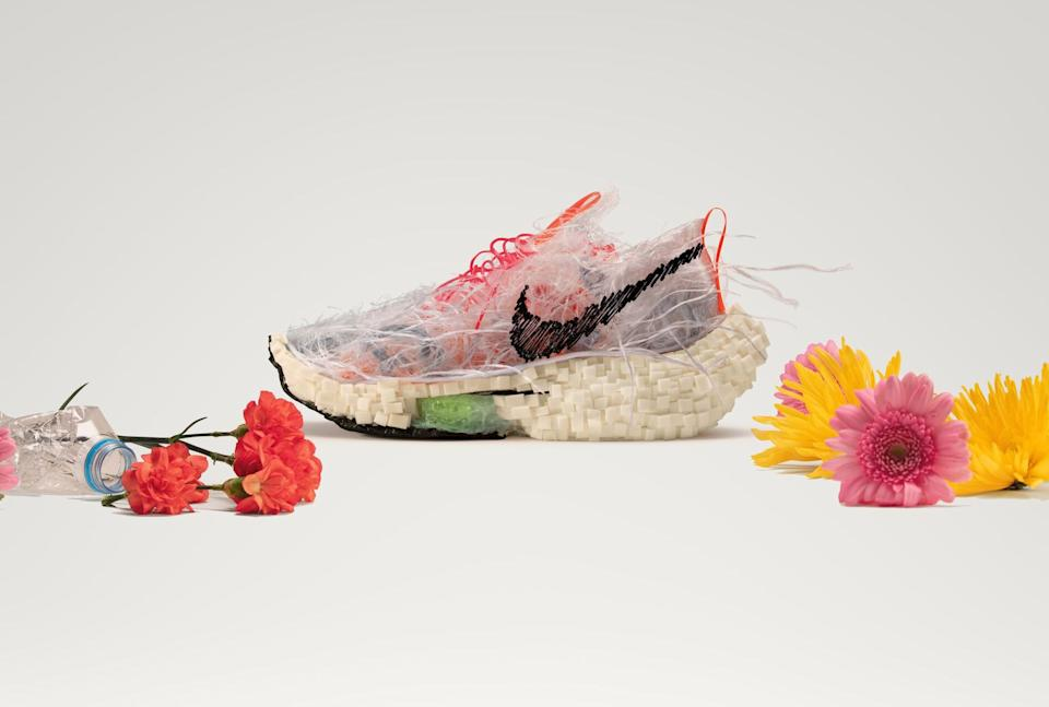 The Air Zoom Alphafly Next Nature is arguably Nike's most sustainable sneaker yet. (Photo by Nike)