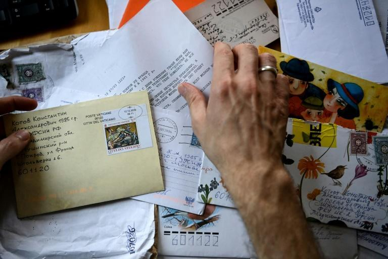 """Konstantin Kotov says the letters he received while in prison stopped him from """"breaking down"""""""