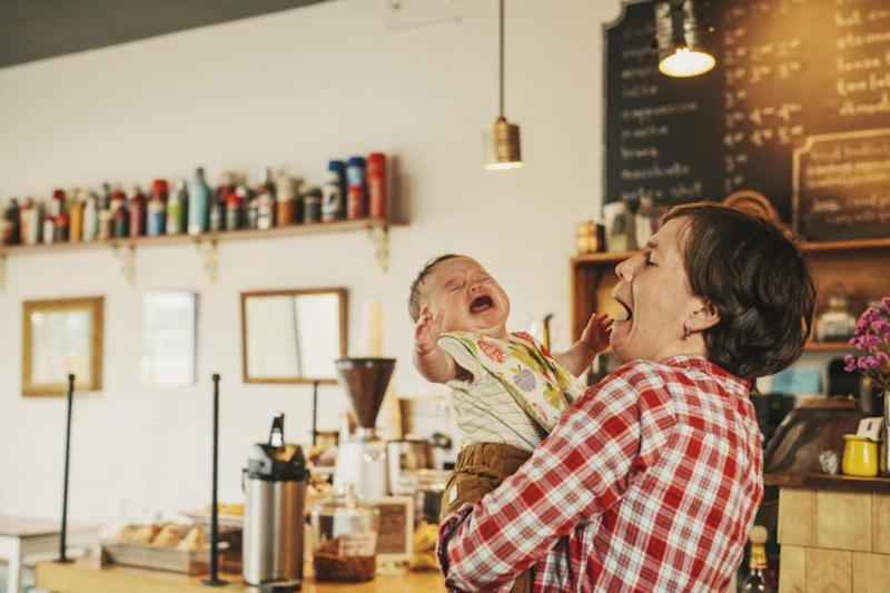 It comes after a mum was asked to leave a cafe because her baby was screaming. Photo: Getty Images