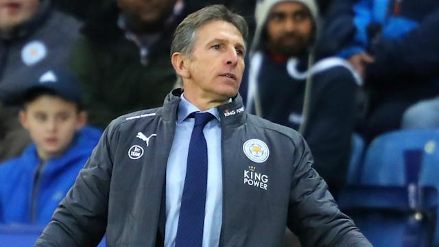 The Nigeria international will miss the Foxes games against Newcastle United and Burnley and his gaffer is unhappy at the situation