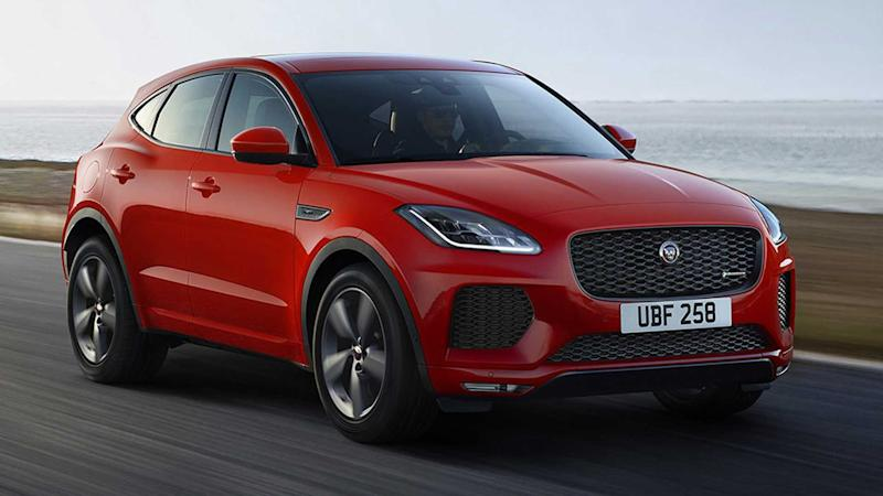 2019 Jaguar E-Pace Checked Flag