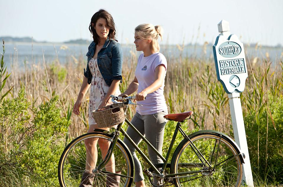 "Cobie Smulders and Julianne Hough in Relativity Media's ""Safe Haven"" - 2013"