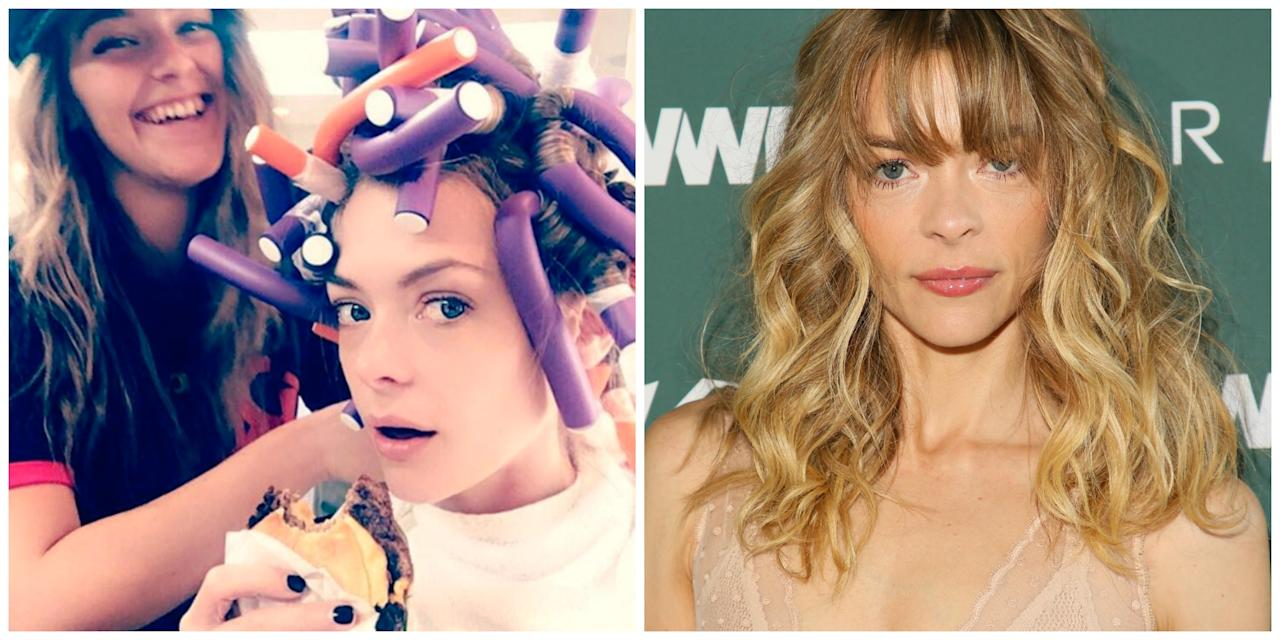 <p>She has the blonde, beachy hair of dreams and it turns out Jaime King's luscious curls are all down to the humble perm. Photo: Getty/Instagram </p>