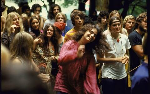 40th anniversary of Woodstock festival - Credit: Getty/BBC