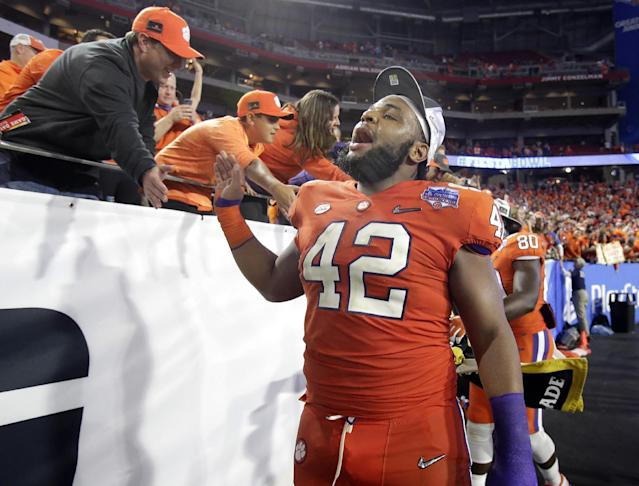 Christian Wilkins leads a loaded Clemson defense. (AP Photo/Rick Scuteri)