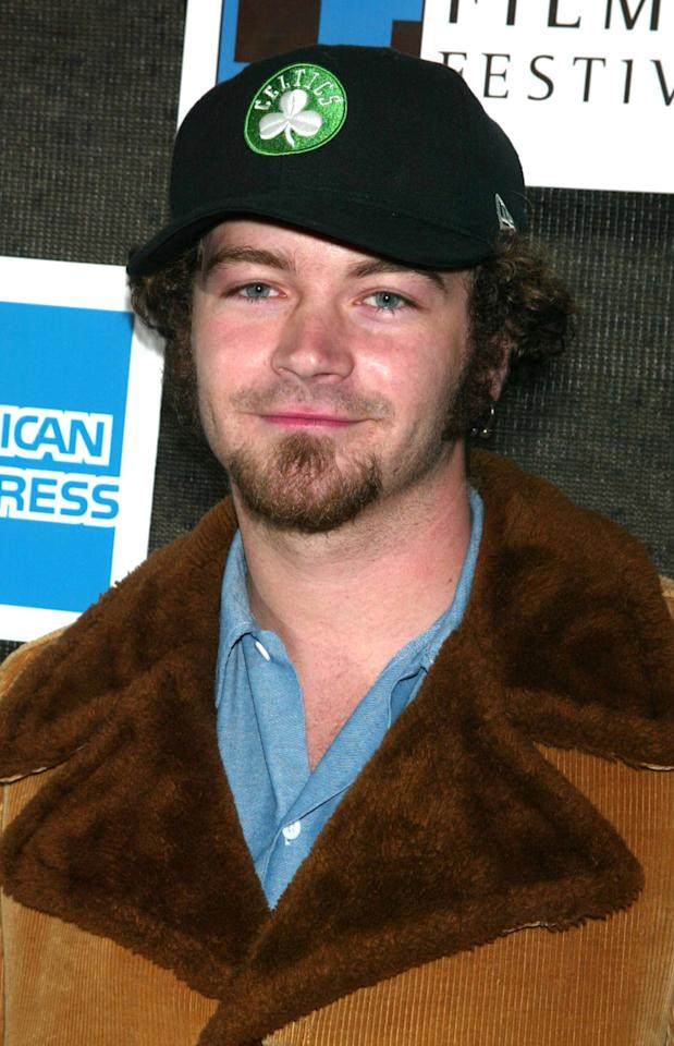 Danny Masterson during 2002 Tribeca Film Festival - Closing Night Ceremony Arrivals at Tribeca Performing Arts Center in New York City, New York, United States. (Photo by Jim Spellman/WireImage)