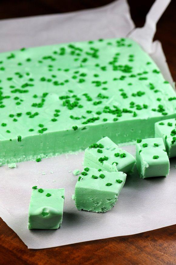 "<p>Don't let the color and the bite sized pieces fool you — this boozy fudge is <em>not </em><span class=""redactor-invisible-space"">for kids.</span></p><p><em><a href=""http://www.sweetrecipeas.com/2013/03/10/drunken-grasshopper-fudge/"" rel=""nofollow noopener"" target=""_blank"" data-ylk=""slk:Get the recipe from Sweet Recipeas »"" class=""link rapid-noclick-resp"">Get the recipe from Sweet Recipeas »</a></em></p><p><strong>RELATED:</strong><a href=""https://www.goodhousekeeping.com/holidays/g4968/st-patricks-day-decorations/"" rel=""nofollow noopener"" target=""_blank"" data-ylk=""slk:20 Seriously Easy and Fun St. Patrick's Day Decorations"" class=""link rapid-noclick-resp""> 20 Seriously Easy and Fun St. Patrick's Day Decorations</a></p>"