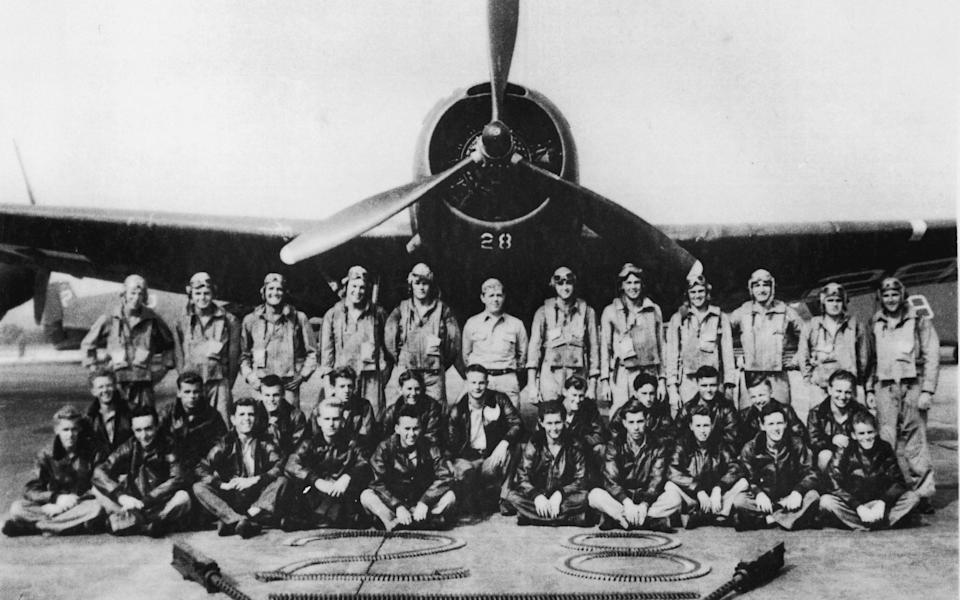 """The legendary """"Lost Squadron"""" of Flight 19 - Getty"""