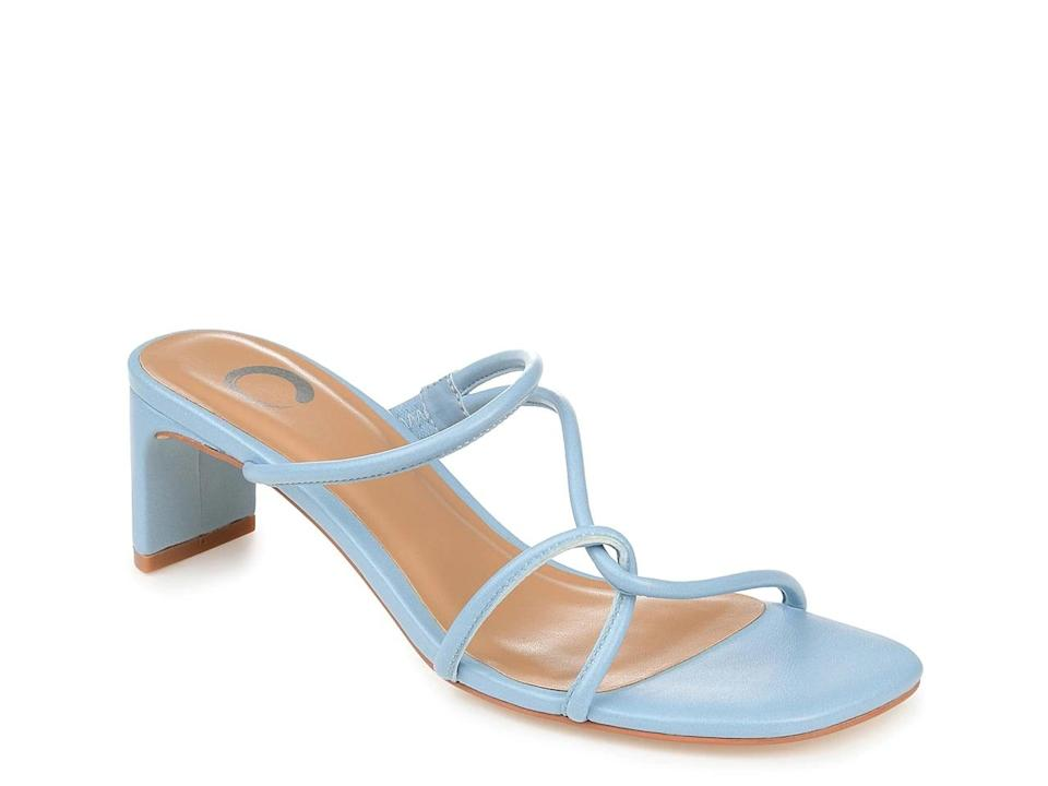 <p>How cute are these <span>Journee Collection Rianne Slide Sandals</span> ($50)?</p>