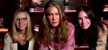 <p>Friends stars and real-life best friends Jennifer Aniston, Lisa Kudrow And Courtney Cox just made a surprise reunion at the Emmy Awards.</p><p>On Sunday September 20, the trio came together for the star-studded award show after Aniston helped host Jimmy Kimmel announce several of the winners at the Staples Center in LA and returned home to find out if she won in her own awards category.</p><p>Aniston was joined by two of her Friends co-stars, who described themselves as roommates.</p><p>'Of course I'm here! We live together!' Cox joked to Kimmel. 'Um, yeah, we've been roommates since 1994 Jimmy,' Aniston added. 'Is this live TV?' Kudrow said.</p><p>When Kimmel said that he thought Kudrow might be with her family on Sunday evening she joked: 'Yeah, like most people live with their families…'</p><p>Aniston's friend and actor Jason Bateman also joined the actresses for the call, with Aniston explaining he's living with her until he 'goes off to college'.</p><p>The mini reunion comes weeks after HBO Max announced it would delay the Friends special again until May 2021<br></p>