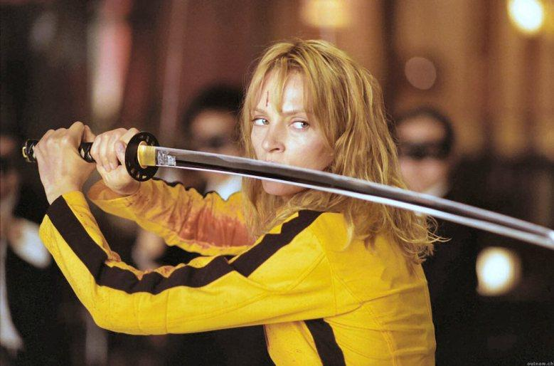 Uma Thurman in Kill Bill (Credit: Miramax)