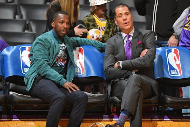 According to ESPN, agent Rich Paul has been given unprecedented power inside the Lakers' organization. (Getty Images)