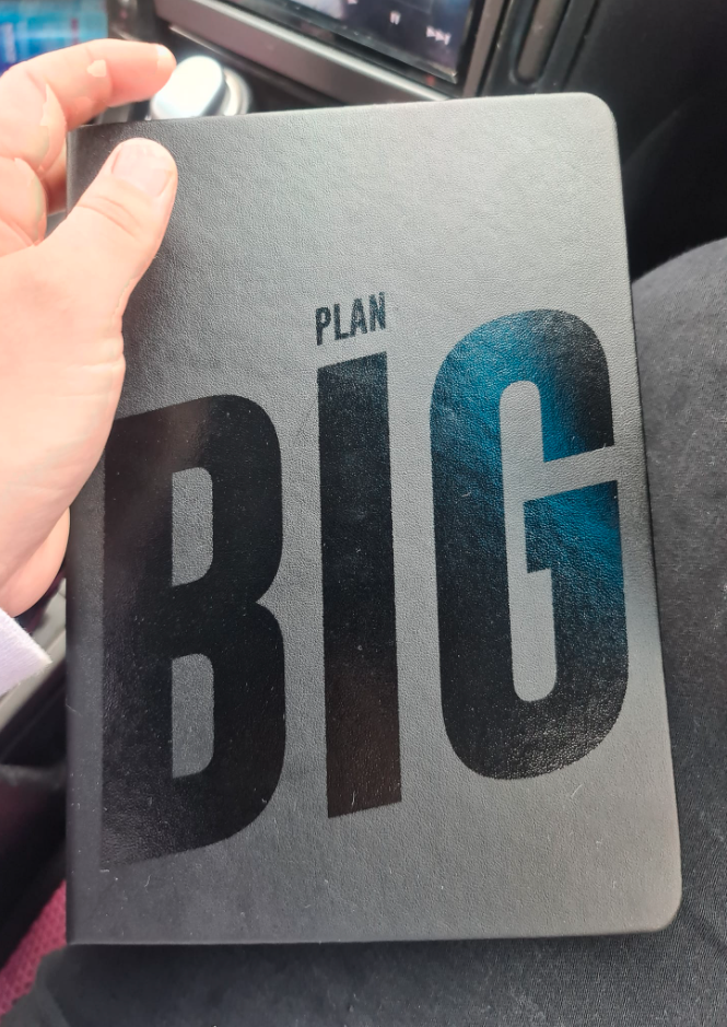 'Plan Big' diary from Kmart