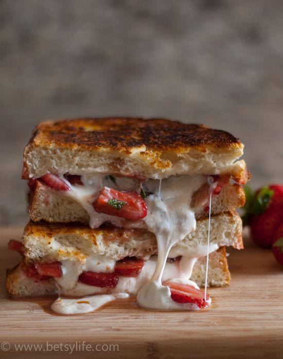 """<p>Fruit and cheese belong together in all glorious forms.</p><p>Get the recipe from <a href=""""http://betsylife.com/2014/07/09/strawberry-balsamic-grilled-cheese/#_a5y_p=2011838"""" rel=""""nofollow noopener"""" target=""""_blank"""" data-ylk=""""slk:BetsyLife"""" class=""""link rapid-noclick-resp"""">BetsyLife</a>.</p>"""