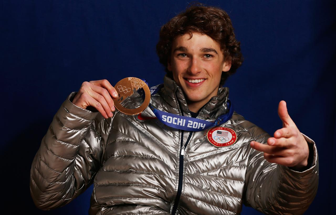 <p>Nick Goepper earned the bronze medal as part of the American sweep in the men's slopestyle at the 2014 Olympics. But shortly after the Olympics, Goepper was diagnosed with depression and anxiety and checked into a recovery center in 2015. Now, Goepper, just 23 years old, is back in the Olympics, chasing his second medal. </p>
