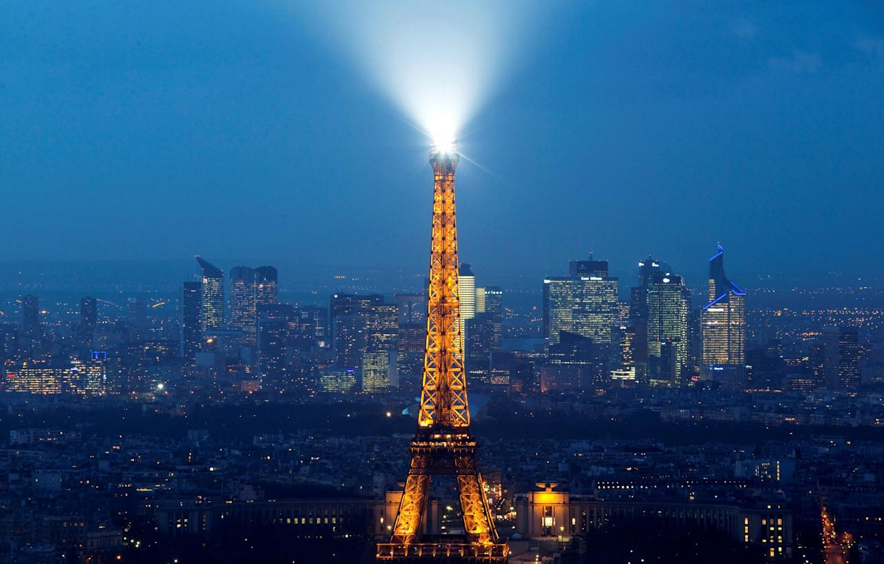 <p>Rank 8: France. Percentage of English speakers: 36. Total number of English speakers: 23,000,000. Photo – AFP </p>