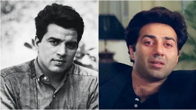 <p>If there was ever a father-son wrestling tag team title, then Dharmendra and Sunny Deol would have been the undisputed champions. Rightly called the 'The He-Man of Bollywood', Dharmendra redefined the action star while looking completely innocent. Now, if you clone Dharmendra, you get Sunny Deol. The same soft facial features with a '<em>dhai kilo ka haath</em>'. That's probably one of the main reasons why people were able to emotionally invest themselves in movies where the Deols were beating the crap out of the bad guys. </p>