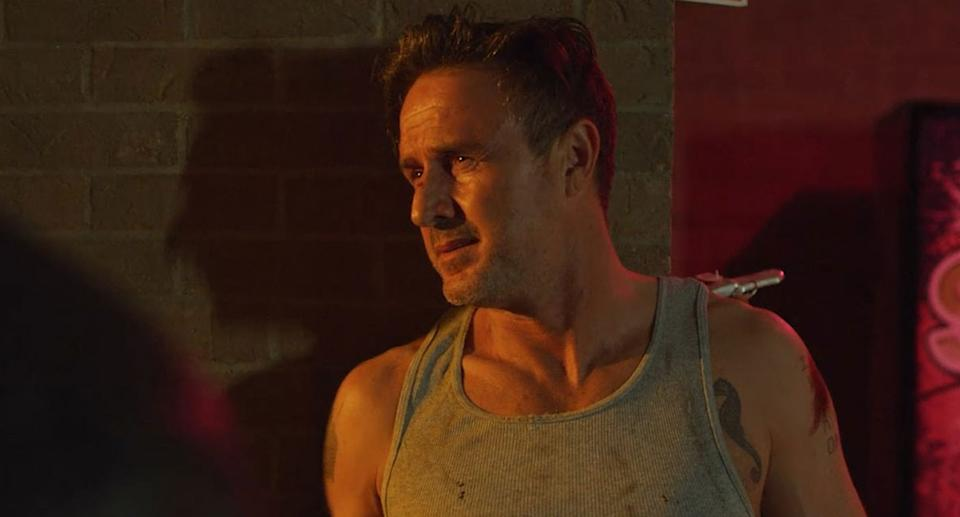 David Arquette in 12 Hour Shift. FrightFest Presents and Signature Entertainment present 12 Hour Shift on Digital Platforms 25th January. (Signature)