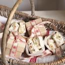 """<p>This traditional festive favourite is all the nicer home-made. Package them up and wish your neighbours a Merry Christmas!</p><p><strong>Recipe: <a href=""""https://www.goodhousekeeping.com/uk/food/recipes/Nougat-christmas-recipe?click=main_sr"""" rel=""""nofollow noopener"""" target=""""_blank"""" data-ylk=""""slk:Nougat"""" class=""""link rapid-noclick-resp"""">Nougat</a></strong><br><strong><br></strong></p>"""