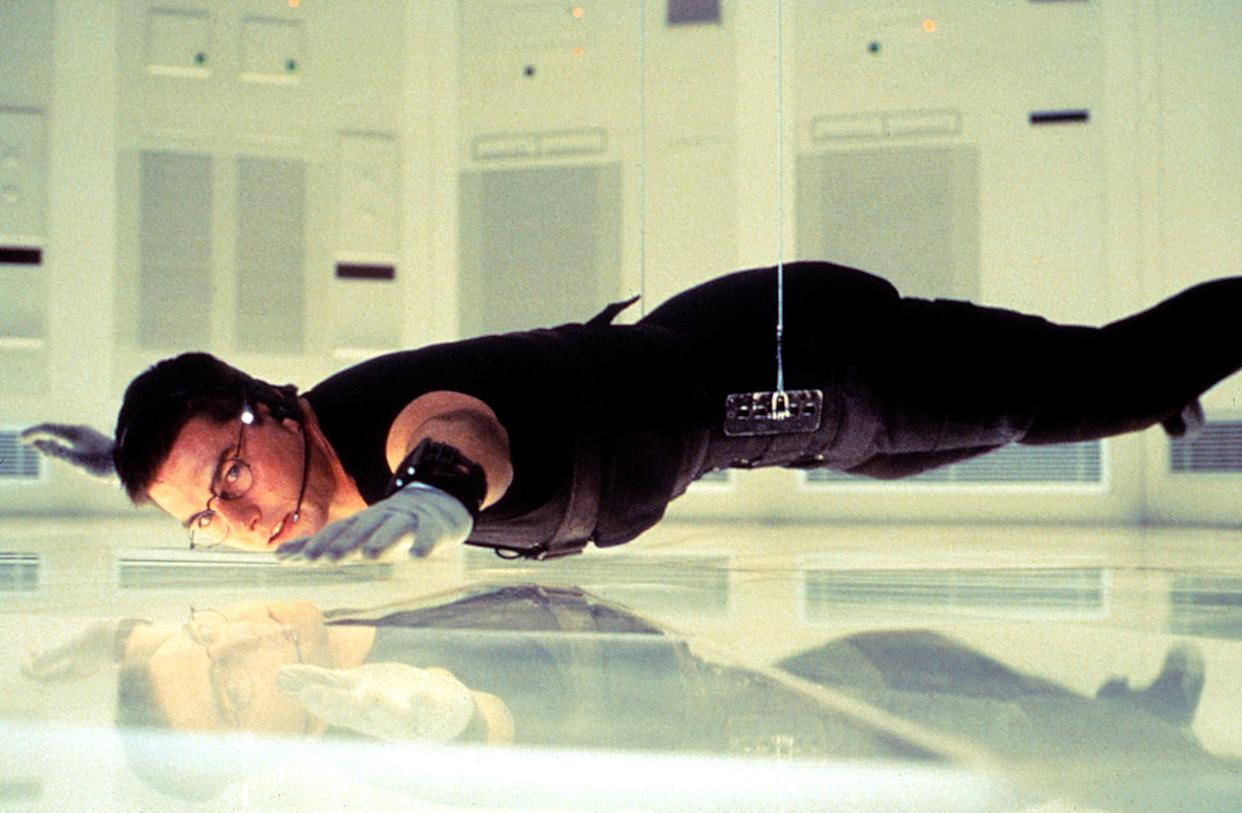 Tom Cruise in the famous 'Mission: Impossible' vault scene (Photo: Paramount Pictures/ Courtesy: Everett Collection)