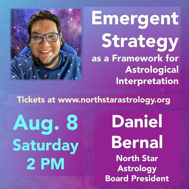 """<p>I met Daniel at the 2020 Queer Astrology Conference and was blown away by <a href=""""https://www.akpress.org/emergentstrategy.html"""" rel=""""nofollow noopener"""" target=""""_blank"""" data-ylk=""""slk:his talk on using Emergent Strategy"""" class=""""link rapid-noclick-resp"""">his talk on using <em>Emergent Strategy</em></a>, a brilliant guide to decolonizing consciousness by Adrienne Marie Brown, as a guide for astrological interpretation. Daniel practices Hellenistic astrology, which means he's dedicated to looking at the patterns of change over time and how they impact us personally.</p><p><a href=""""https://www.instagram.com/p/CDjrpqQn-15/?"""" rel=""""nofollow noopener"""" target=""""_blank"""" data-ylk=""""slk:See the original post on Instagram"""" class=""""link rapid-noclick-resp"""">See the original post on Instagram</a></p>"""