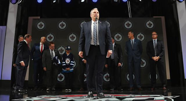 Kevin Cheveldayoff is GM-ing at a high rate. (Getty)