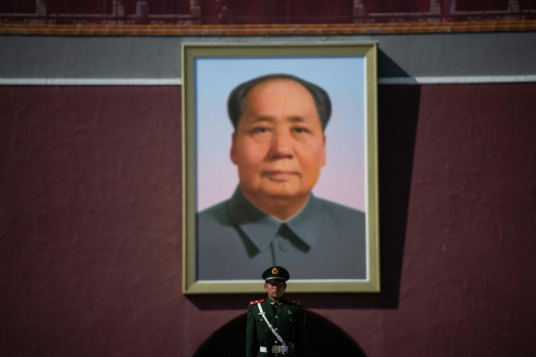 Revolutionary Chinese communist leader Mao Zedong cracked down on triads, but they re-emerged decades later as unlikely allies of Beijing (AFP Photo/STR)