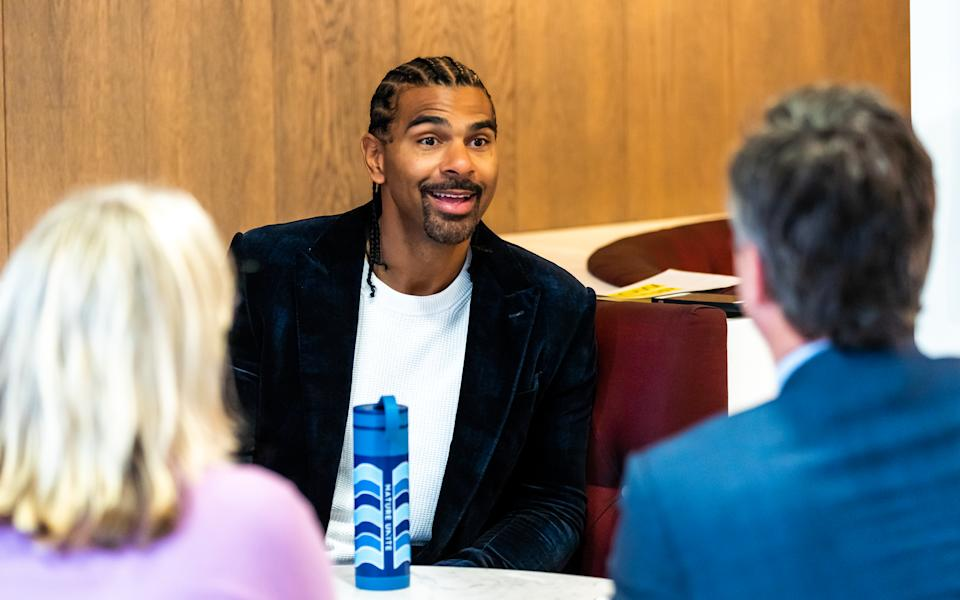 Former heavyweight champion David Haye has high hopes of an undisputed title bout between Tyson Fury and Anthony Joshua next year