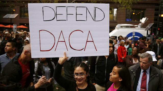WASHINGTON ― Politicians, private donors and organizations have raised hundreds of thousands of dollars to help young undocumented immigrants who are eligible to renew deportation relief but need to come up with a nearly $500 application fee within weeks.