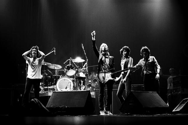 <p>Tom Petty and the Heartbreakers, November 1979, in Philadelphia. (Photo: AP) </p>
