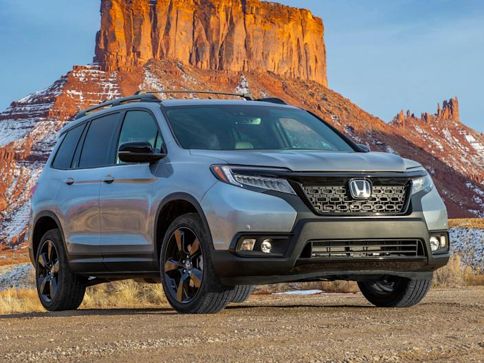 2020 Honda Passport.
