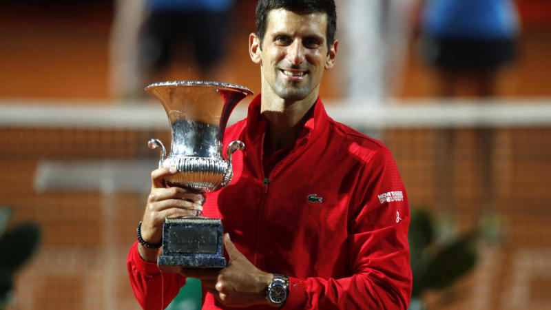 Djokovic wins in Rome to claim record 36th Masters title