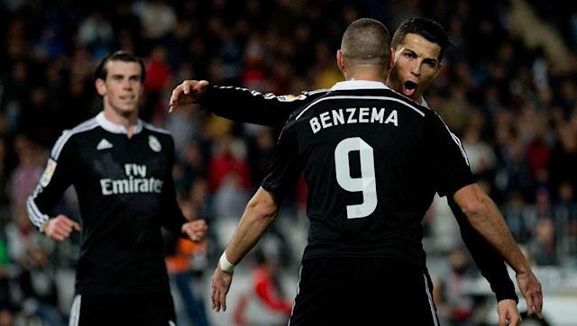 <p>Although it's hard to believe, many in Spain feel that playing the BBC (Bale, Benzema & Cristiano) together has been a hinderance to the Madrid side this season.</p> <br><p>Benzema and Ronaldo, in particular, have been criticised for their lack of involvement in games recently as it appears that the work rate levels have decreased, with the midfield being forced do their workload.</p> <br><p>The three forwards seem to be relying on moments rather than helping the team with and without the ball. This was seen in the Eibar match mentioned before when Madrid produced arguably their best away performance of the season without Ronaldo and Bale being involved.</p> <br><p>There's no doubt that either one of these players can win a match on their own but they need to work harder and combine better together if they want to win the title.</p>