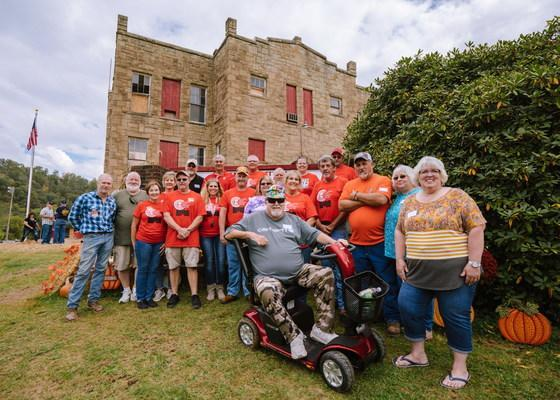 Calhoun County High's Class of 1982 purchased the 100-year-old building and is leading the charge behind the renovations.