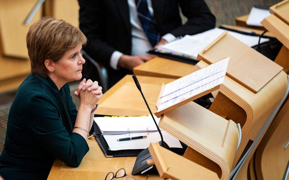 Nicola Sturgeon's party has unveiled plans allowing people from the age of 16 to change their legal gender through self-identification, without a clinical diagnosis or medical evidence. - Andy Buchanan