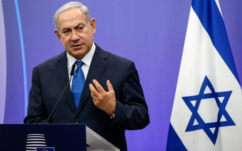 Police are reportedly expected to recommend next week that Mr Netanyahu face corruption charges - Bloomberg