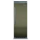 """<p><strong>Viking</strong></p><p><a href=""""https://www.vikingrange.com/consumer/product/products/refrigeration/built-in-refrigeration/5-series-built-in-refrigerator-freezers/5-series-full-height-refrigeration/30--all-refrigerator---vcrb5303"""" rel=""""nofollow noopener"""" target=""""_blank"""" data-ylk=""""slk:Shop Now"""" class=""""link rapid-noclick-resp"""">Shop Now</a></p><p>Viking's 5 Series refrigerator column is offered in a variety of show-stopping colors; naturally, we're partial to this earthy cypress green.</p>"""