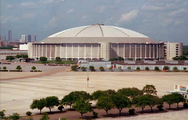 The Houston Astrodome was constructed in 1966 (AP Photo/Tim Johnson, File)