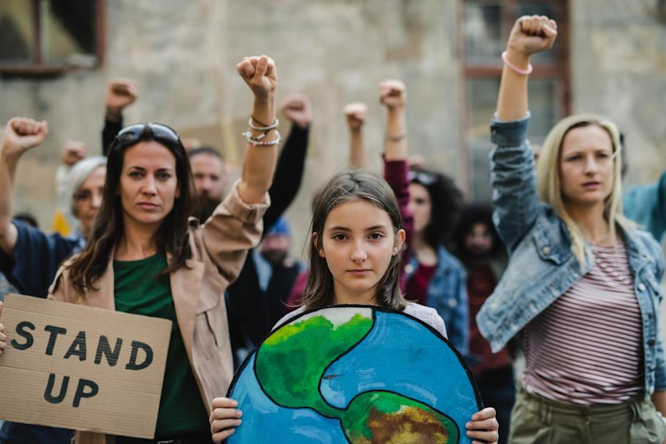 youth climate protest (Halfpoint/ iStock/ Getty Images Plus)