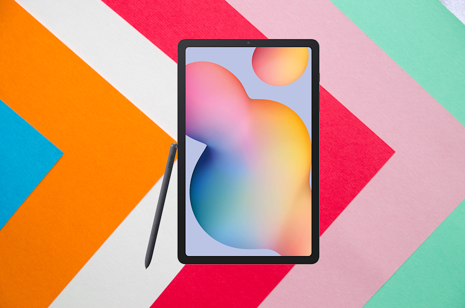 Save 20 percent on the Samsung Galaxy Tab S6 Lite with S-Pen. (Photo: Amazon)