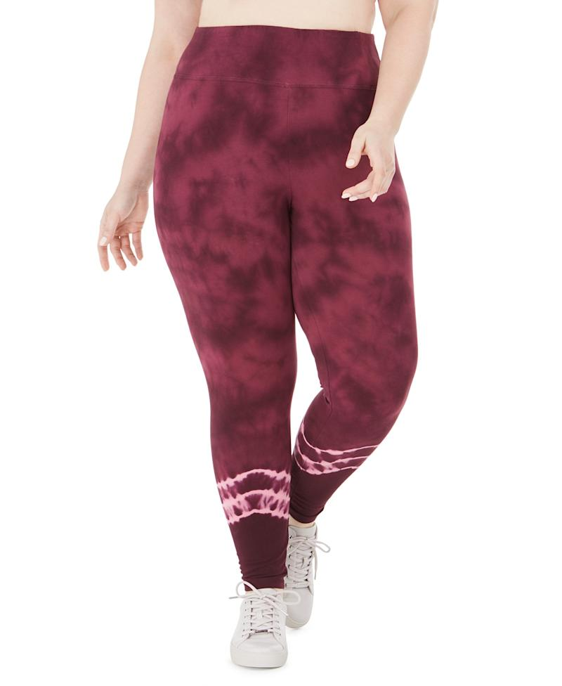 Ideology Tie Dyed Leggings. (Photo: Macy's)