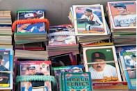 "<p>Baseball cards have long been purchased, collected, traded, and sold by baseball-loving kids who often carry the passion for the memorabilia into adulthood. In 2016, the T206 Honus Wagner card from 1909-1911 set a world record when it sold for $3.12 million, <a href=""https://www.stadiumtalk.com/s/most-expensive-baseball-cards-985687df1bbe45c5"" rel=""nofollow noopener"" target=""_blank"" data-ylk=""slk:the most ever paid"" class=""link rapid-noclick-resp"">the most ever paid </a>for a baseball card.</p>"
