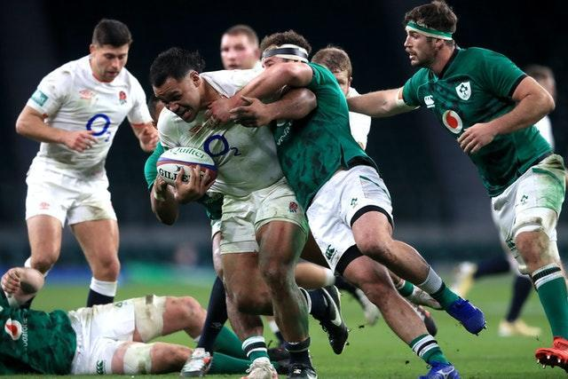 Ireland came off second best against England