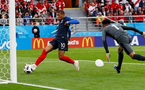 KylianMbappe taps in to score the only goal of the game - Credit: Reuters